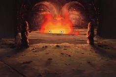 Calcifer. Howl`s Moving Castle