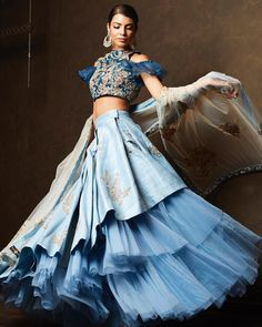 Buy Online Punjabi Wedding Lehenga Designer Collection Call/ WhatsApp us 77164 Designer Bridal Lehenga, Bridal Lehenga Choli, Indian Lehenga, Indian Gowns, Indian Attire, Indian Wear, Lehenga Wedding, Bollywood Lehenga, Wedding Dress