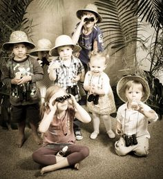 """Photo 54 of 66: Jungle, Safari, Animals / Birthday """"Tahlin's 3rd Safari Party Recycle, Reduce, Reuse! & Facebook Business"""" 