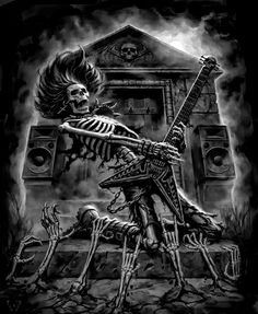 whitesoulblackheart:  Death Metal by James Ryman© FB / deviantART / Website (Please leave links & credit …Ƹ̴Ӂ̴Ʒ)