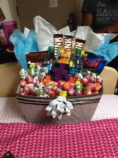 Valentines gift basket for the boyfriend boyfriends gift and gift basket for boyfriend negle Images