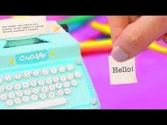 Haz una MINI MÁQUINA de NOTAS para tu escritorio - ¡Organízate ya! ✄ Craftingeek - YouTube