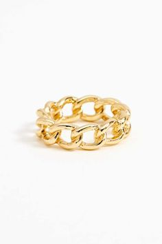 Chained Ring - Gold $1