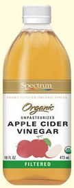 Spectrum Organic Apple Cider Vinegar (Filtered)