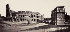 Foto do Coliseu de 1869