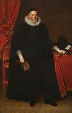 """Sir Henry Savile"", Marcus Gheeraerts the younger, ca. 1605; University of Oxford LP 79"