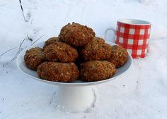 Sušenky z ovesných vloček s medem