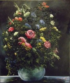 "Saatchi Online Artist Lizzy  Forrester; Painting, ""The Moon Vase"" #art"