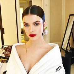 French model Sonia Ben Ammar takes us behind the scenes of the 2017 Met Gala, and reveals her beauty essentials.