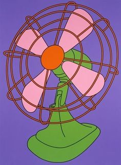 Fan, Michael Craig-Martin https://uk.pinterest.com/clayton4570/pop-artist-michael-craig-martin/