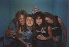 thrash metal | Thrash Metal Metallica...Old School Metallica...Cliff Burton RIP