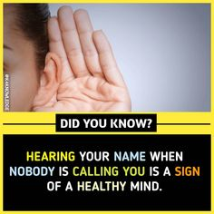I think my mind is healthy . True Interesting Facts, Some Amazing Facts, Interesting Facts About World, Intresting Facts, Unbelievable Facts, Amazing Science Facts, Wierd Facts, Wow Facts, Real Facts