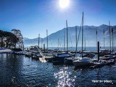 lungolago Locarno Muralto, Ticino, Switzerland
