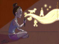 Alvaro Matteucci - #samsung #notepro #wacom #medibangpaint #illustration #cartoon #girl