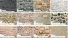 Modelos de piedras para revestimiento interior y exterior 6