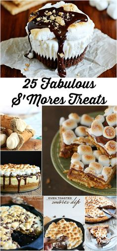 25 Fabulous S'Mores