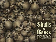 Elevate your workflow with the Skulls & Bones Textures asset from Find this & more Textures & Materials on the Unity Asset Store. Skull Game, Unity 3d Games, Physically Based Rendering, Game Textures, Gloss Paint, Low Poly Models, Low Poly 3d, Texture Packs, Game Dev