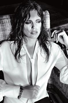 Emily DiDonato by Bebe Moratti for the Redemption Choppers Summer 2015 Campaing