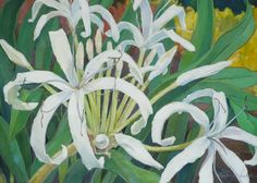 """spider lily""  (available from artist)"
