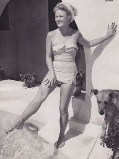 Classic Hollywood Pin-Ups – Joan Caulfield - c.1954