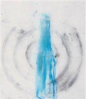 Still life with blue bottle by Adriana Simotova