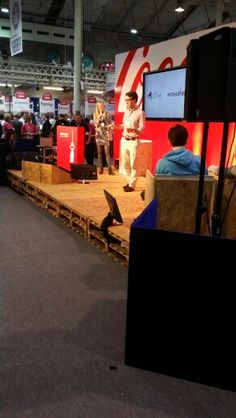 The coke pitch stage