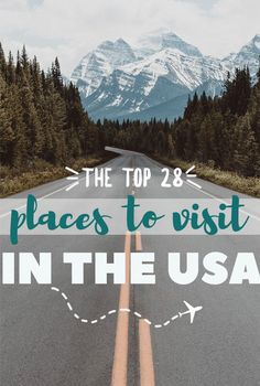 After three cross country road trips, here is my list of the best places, cities, parks, etc to go and visit on your next vacation in the US. #ustraveltips