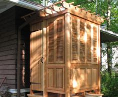 VIXEN HILL'S NEW SHOWER AND SAUNA CABANA ADDS LUXURY TO OUTDOOR LIVING