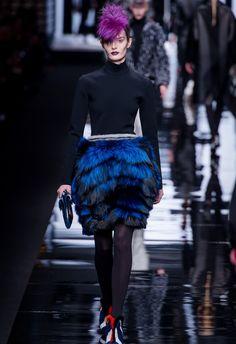 Karl Lagerfeld & Silvia Venturini for Fendi Ready to Wear - Fall 2013