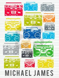 Boomboxes - Music Canvas Wall Art   Oopsy daisy