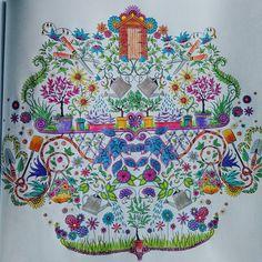 Coloringbook Antistresoveomalovanky Johannabasfordsecretgarden Secretgarden Tajnazahrada Johannabasford Omalovankyprodospele