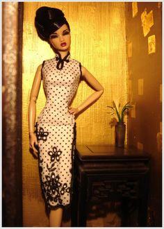 Cheongsam doll