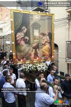 #GeraciSiculo, Festeggiamenti in onore di Maria SS. Annunziata, Compatrona di Geraci. www.hyeracijproject.it, #ilgustodiviverelastoria, © #2014HyeracijProject