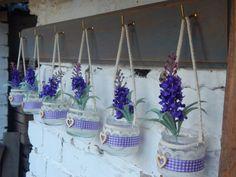 Primavera-florero de 6 tarros de sets lámparas por LUCIDELNORD