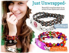 Very Cool Medical Bracelets...if you have to wear one!