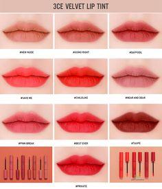 Super Make-up koreanischen Stil Lippentönung Ideen – Nails & MakeUp! 3ce Makeup, Kiss Makeup, Makeup Dupes, Beauty Makeup, Eyeshadow Makeup, Makeup Products, Hair Makeup, Makeup Korean Style, Asian Makeup Looks