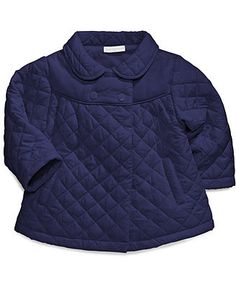 Baby Girls Quilted Jacket - #Kids #baby - Macy's < Too cute