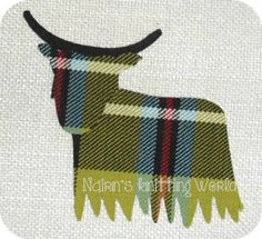highland cow applique - Google Search