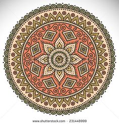 Find Flower Mandala Vintage Decorative Elements Oriental stock images in HD and millions of other royalty-free stock photos, illustrations and vectors in the Shutterstock collection. Mandala Art, Mandala Doodle, Mandala Drawing, Flower Mandala, Mandala Design, Zentangle Drawings, Zentangles, Coloring Books, Coloring Pages