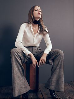 THE FALL REPORT | WOMAN-EDITORIALS | ZARA United Kingdom