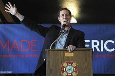 65 #prezpix #prezpixrs election 2012 candidate: Rick Santorum publication: abc news photographer: AP Photo publication date: 3/20/12