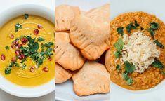 Indisk ukemeny - Vegetarbloggen Naan, Curry, Ethnic Recipes, Food, Curries, Essen, Meals, Yemek, Eten