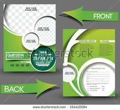 Golf Tournament  Flyer Template   Commerce Flyers  Golf