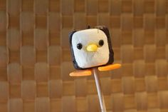 Marshmallow Penguin Cupcake Toppers