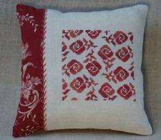 Pillow Roses, just lovely hand work....