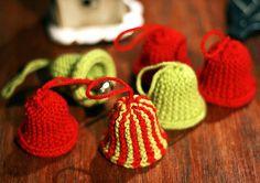 Cute bells - Ravelry free crochet pattern