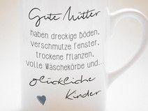 """""""Gute Mütter haben..."""" - Tasse"""