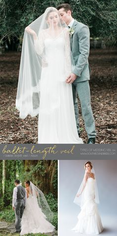 When it comes to classic and romantic wedding inspiration, there's nothing more representative than the traditional (or even the traditional-with-a-twist) veil. Long or short, I love these be…