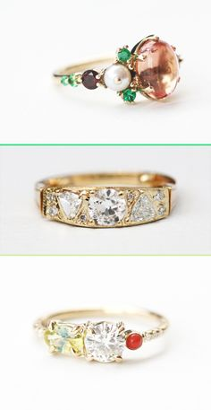 mociun rings - the one on the top is my fave