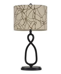 Love this Crackle-Shade Table Lamp on #zulily! #zulilyfinds